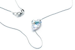 Heart Necklace Stock Photo