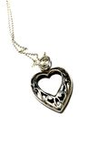 Heart necklace A Royalty Free Stock Image