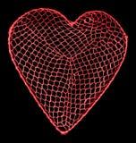 Heart net Stock Photos