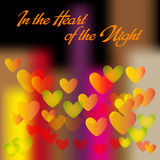 Heart of Night Royalty Free Stock Images