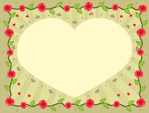Heart Note Royalty Free Stock Images