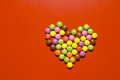 Heart Of Pills Royalty Free Stock Photo