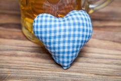 Heart for oktoberfest Royalty Free Stock Photo