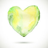 Heart-organic-green Stock Photos