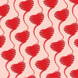 Heart origami Background illustration Stock Photos