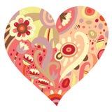 Heart Ornament vector illustration