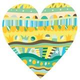 Heart Ornament royalty free illustration