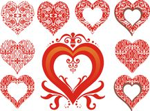 Heart Ornament Royalty Free Stock Photos