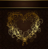 Heart  ornamental Stock Image