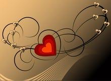 Heart ornate Stock Photo
