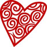Heart Outline Stock Image