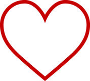 Heart Outline Royalty Free Stock Image