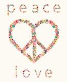 Heart&Pacific, слово Бесплатная Иллюстрация