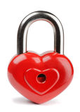 Heart  padlock Royalty Free Stock Images