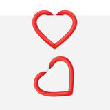 Heart Page Clip Royalty Free Stock Image