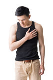 Heart pain Stock Photos