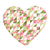 Heart of paper Stock Images