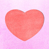 Heart paper Royalty Free Stock Image