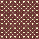 Heart Paper Sticker With Shadow Valentine's day vector illustrat Royalty Free Stock Images