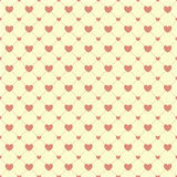Heart Paper Sticker With Shadow Valentine's day vector illustrat Stock Images