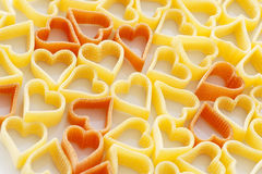 Heart pasta Royalty Free Stock Photography