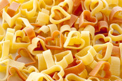 Heart pasta Royalty Free Stock Photos