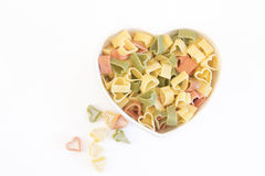 Heart Pasta Stock Images