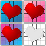 Heart pattern Royalty Free Stock Image