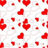 Heart pattern 2 Royalty Free Stock Photo