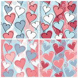 Heart Pattern Stock Photography