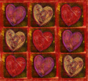Heart Pattern Stock Image
