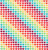 Heart pattern background Royalty Free Stock Image