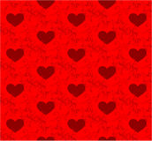 Heart pattern background Royalty Free Stock Photo