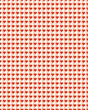 Heart Pattern Background stock images