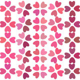 Heart pattern, background with hearts Stock Photography