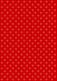Heart Pattern Background Red Royalty Free Stock Image