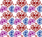 Heart pattern Stock Photo