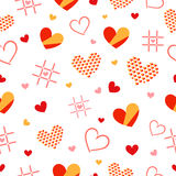 Heart pattern. 