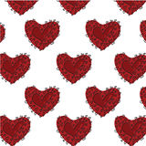 Heart pattern Stock Images