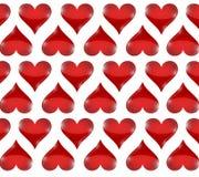 Heart pattern illustration design Royalty Free Stock Images