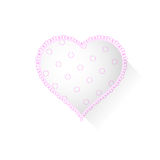 Heart with pattern Royalty Free Stock Photo