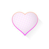 Heart with pattern Royalty Free Stock Image