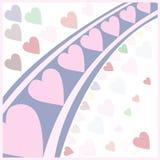 Heart pattern Stock Image