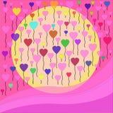 Heart pattern Royalty Free Stock Photo