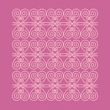 Heart pattern. For ornament. Vector file Royalty Free Stock Images