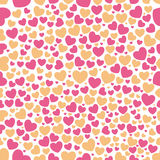 Heart Pattern Seamless. Vector seamless pattern with hearts Stock Image