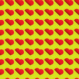 Heart pattern - seamless design Royalty Free Stock Photo