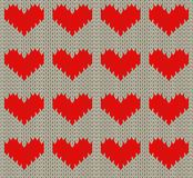 Heart pattern Royalty Free Stock Photo
