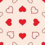 Heart_pattern_seamless. vector illustration