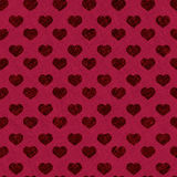 Heart pattern - seamless valentine wrapping Stock Image
